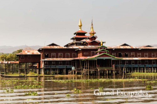 Monasteries on Inle Lake, Myanmar
