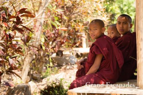 Young Monks, Inle Lake, Myanmar