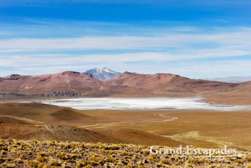 The Laguna Blanca, South West Bolivia, South America