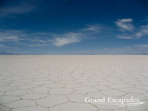 The Salar de Uyuni, the biggest Salt Lake in the world, as big as half of Switzerland! Southwest Bolivia, South America