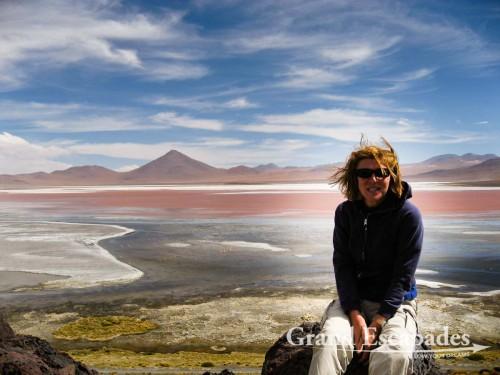 The Laguna Colorada, Southwest Bolivia, South America