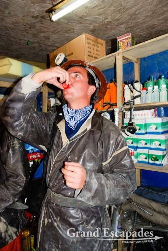 Discovering the Working Conditions of the Mineros del Diabolo, Cerro Rico, Potosi, Bolivia