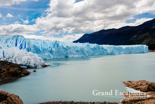 View from the boat - Glacier Perito Moreno, El Calafate, South Patagonia, South America