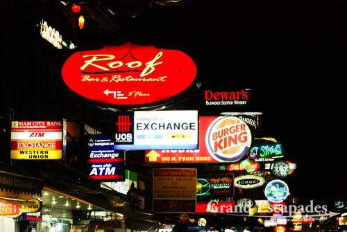 Kao San Road, Bangkok, Thialand...