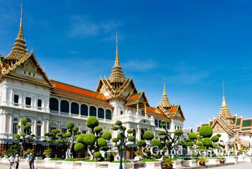 Grand Palace, that had just been restorated, Bangkok, Thailand