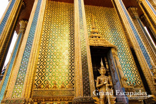 Grand Palace, that had just been restorated, Bangkok, Thailand