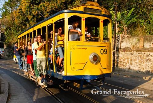 Santa Teresa Tramway (Bondinho), Rio de Janeiro, Brazil, South America