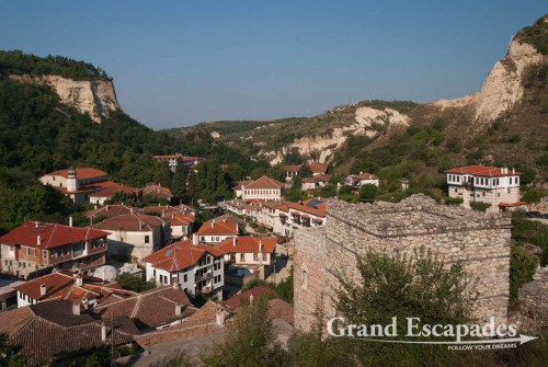 Picturesque village of Melnik, wine growing area, south of Bulgaria, Europe