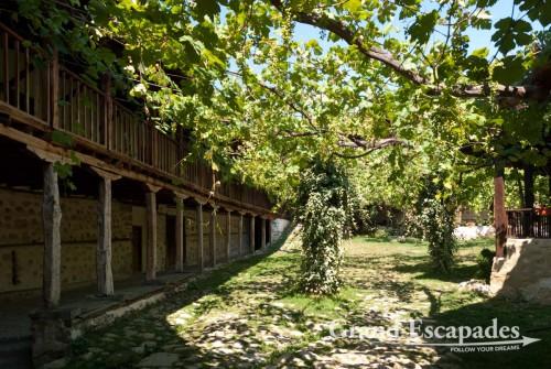 Rozhen Monastery, Melnik, wine growing area, south of Bulgaria, Europe