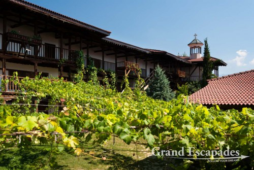 Rozhen Monastery, Melnik, wine growing area, south of Bulgaria, Europe