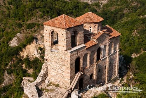 Monastery near the fortress in Assenovgrad, Plovdiv, Bulgaria, Europe
