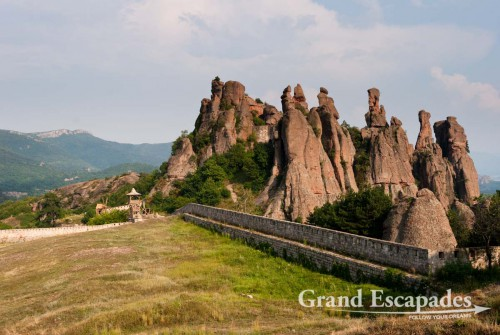 Roman Kaleto Fortress and the massive Rock Formations near Belogradchik, Northwest Bulgaria, Euope