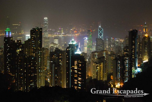 Hong Kong's Skyline - View from Victoria Peak