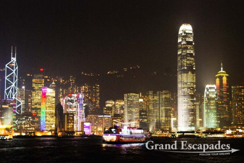 Hong Kong's Skyline - View from Avenue of the Stars