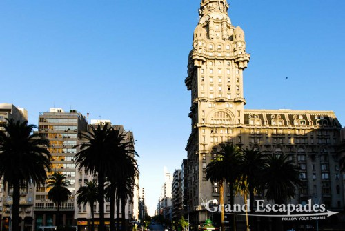 City Center of Montevideo, Uruguay