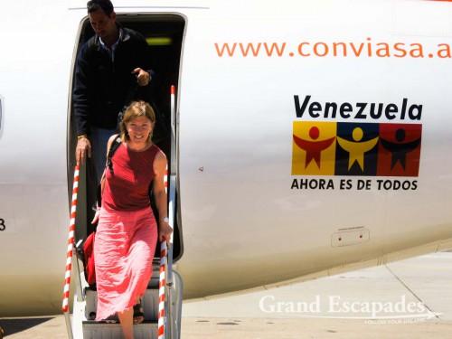 Arriving at Ciudad Bolivar, Venezuela - A major hub for trips in the Guyana Region (Orinoco Delta, Canaima & Angels Falls, Gran Sabana)