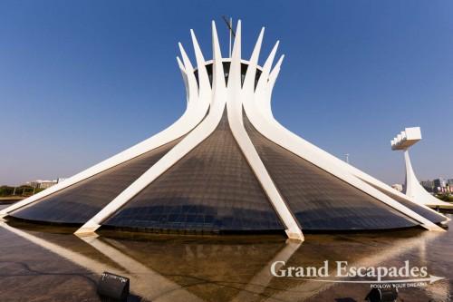 Catedral Metropolitana Nossa Senhora Aparecida, Brasilia, Distrito Federal, Brazil