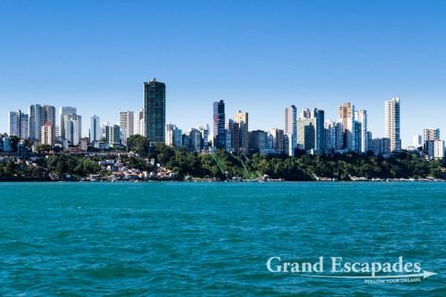 The Skyline of Salvador de Bahia, Brazil