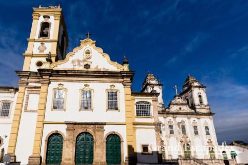 Igreja e Convento do Carmo, Pelourinho, Salvador de Bahia, Brazil