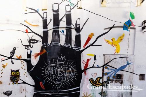 Street Art in the Pelourinho, Salvador de Bahia, Brazil
