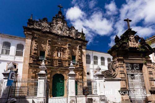 Igreja da Ordem Terceira deSao Francisco, Pelourinho, Salvador de Bahia, Brazil