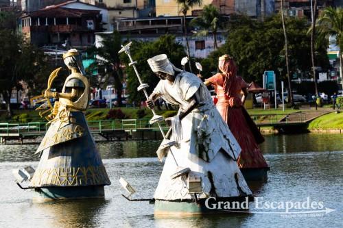 Statues of Orixas, Salvador de Bahia, Brazil