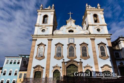 Igreja da Nossa Senhora do Rosario dos Pretos, Pelourinho, Salvador de Bahia, Brazil