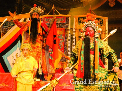 Chinese Opera in Jinjiang Theater, Chengdu, China