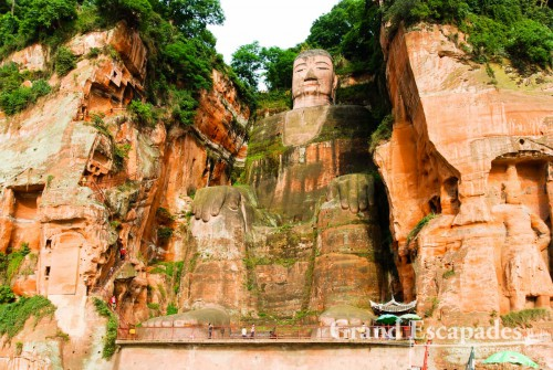 Leshan, the Biggest Bhudda, near Chengdu, China