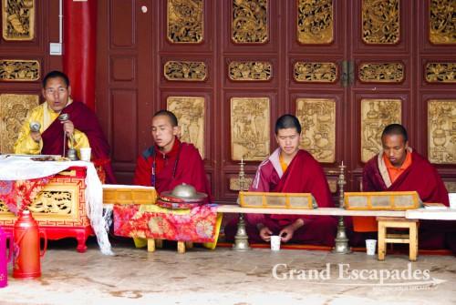 Wenbi Monastery, Lijiang, Yunnun, China