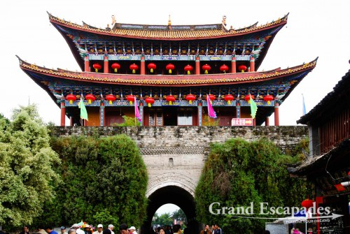 One of the four big gates surrounding Dali, Yunnan, China
