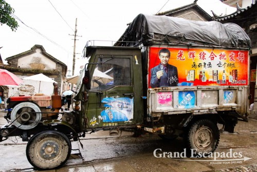 In the streets of Dali, Yunnan, China