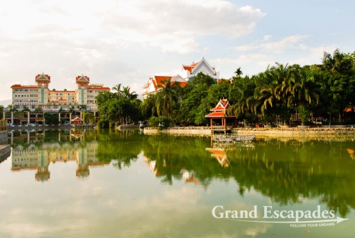 Jinghong, the capital of the Xishuangbanna province, seems like the Chinese Riviera, China