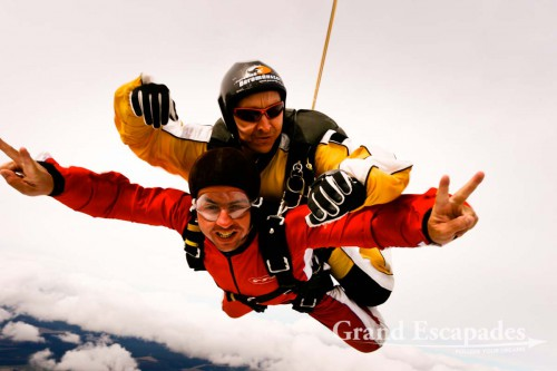 Taupo Tandem Skydiving in Lake Taupo, North Island, New Zealand