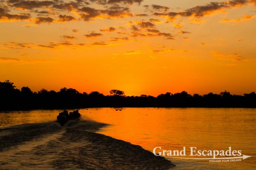Sunset over the Pantanal, Porto Jofre, Brazil