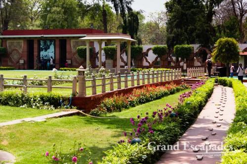 Gandhi Smriti, the very place where the Mahatma Gandhi was shot, Delhi, India