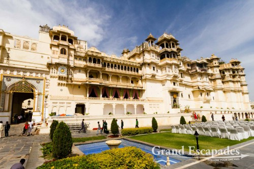 City Palace, Udaipur, Rajasthan, India
