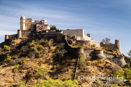 "Kumbhalgarh Fort and the ""Indian Great Wall"", Kumbhalgarh, Rajasthan, India"