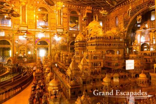 Nasiyan Red Temple, a stunning Jain Temple, Ajmer, Rajasthan, india