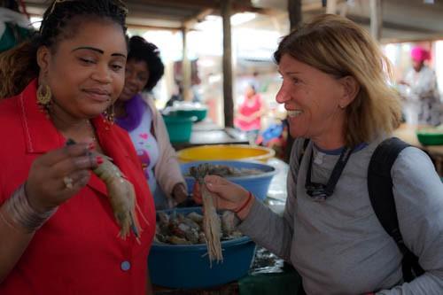Maputo, fish market
