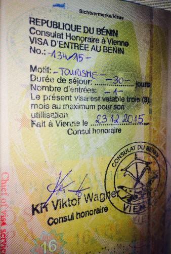 Visa Benin