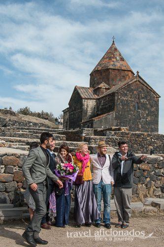 Sevanavank Monastery - popular with wedding parties