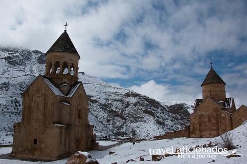 wintery Noravank